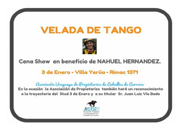 Velada de tango en Villa Yerúa