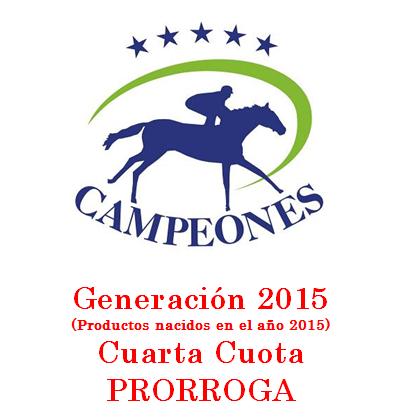 Generación 2015 – Cuarta Cuota – Último aviso.