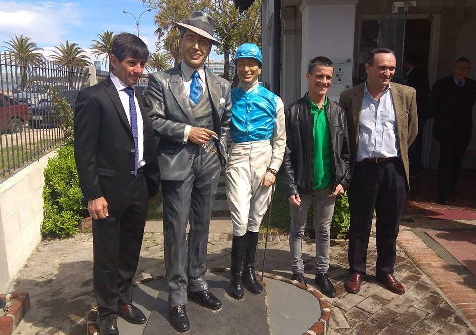 Falero y Ricardo, dos visitas ilustres en Villa Yerúa