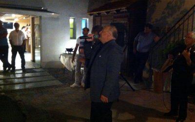 Inolvidable: Hugo Miguel Pérez estrena un tango a Falero en Villa Yerúa